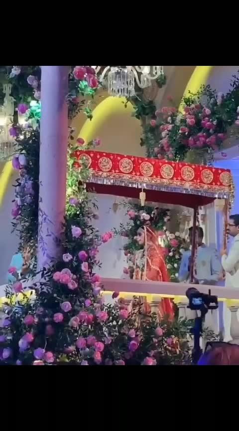 Royal entry of Sholak Mehta on her wedding day #ambaniwedding