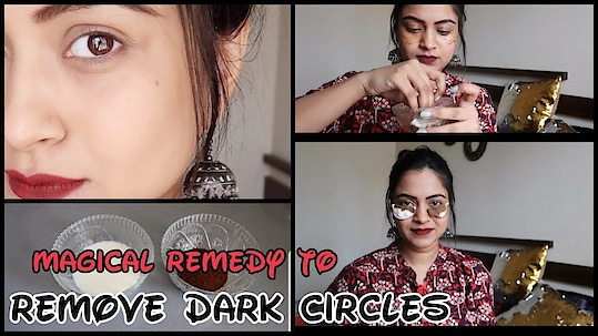 #Homeremedy #hairstylediaries #youtuber #newvideo #indianyoutuber #youtube #hair #indianhair #darkcircles #remedy to darkcircles #undereyecream #indian remedy Magical Remedy to Remove Dark Circkes Permanently!! How to get rid of dark circles!!