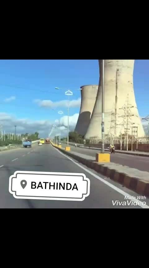 bathinde wale rehnde ni spoon bann k  #bathinda #osm-weather #ghaint #bande