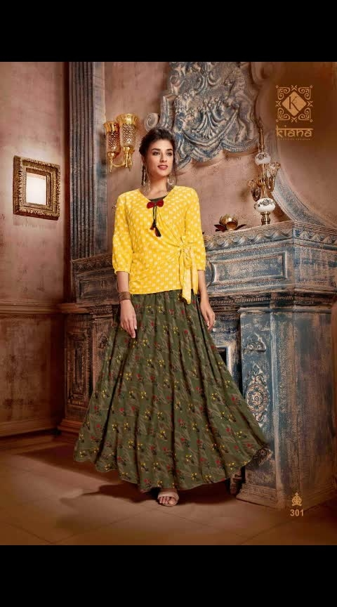 *#NEW UPCOMING STOCK IN GOWN CUM KURTIS*  *#PREBOOKING STARTED*  After long time we come back With our famous series   *#👑Kiana👑* *house of fashion*   Catalogue Name-  *#VINTAGE VOL-3*  ✨Details  *👗Fabrics* :- 14kg Reyon, Embroidery work, Hand Block Print, With accessories, Full interlock, Bombay finishing    *🎗Size* :- M(38) L(40) XL(42) XXL(44) 3xxl(46)    *🌈 Length* :--> 52+  *☣Designs* :- 10 pcs     *SINGLE PIECE PRICE - ₹ 1175. + SHIPPING    *PING US FOR FULL CATALOGUE PRICE*  Limited stock .....  🏃🏼🏃‍♀🏃🏼hurryyy uppp....Book your order now...🤷‍♂🤷‍♀🤷‍♂  *DISPATCH DATE - 30th March 2019*