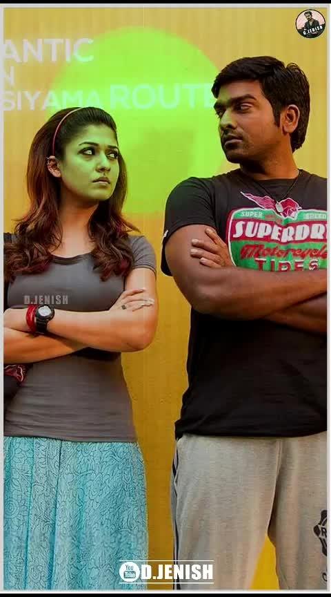 #NaanumRowdyDhaan #Thangamey #FullScreen #TamilHits #TamilSong #D_Jenish #Jenish  Naanum Rowdy Dhaan - Thangamey Song Lyrics | FullScreen | WhatsappStatus | D.JENISH
