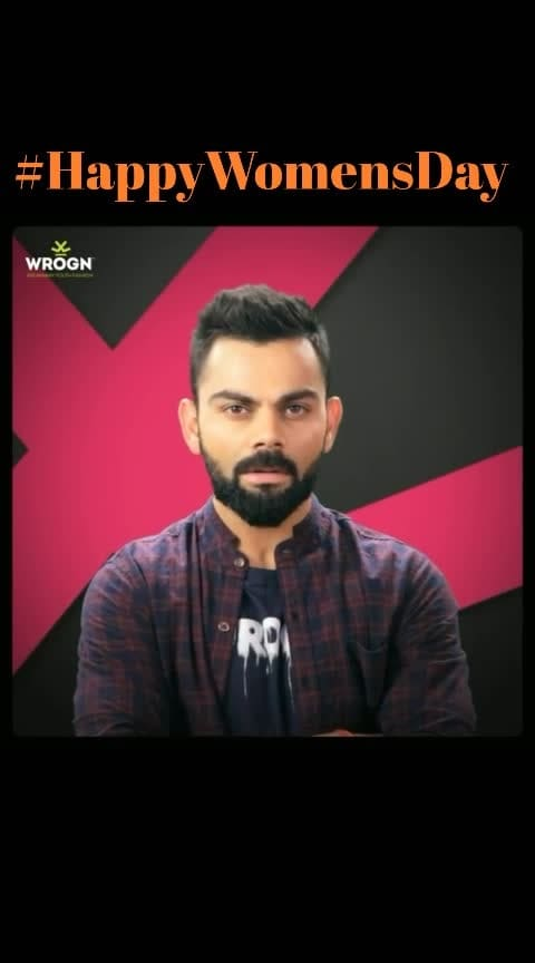 #happywomensday #women #womenpower #womanpower #virat #viratkohli @roposocontests  #viratkohli18 #kingkohli