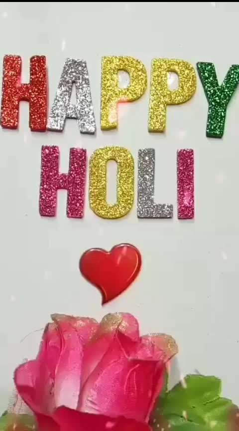 Happy Holi Friends #happyholi #happyholi2019 #happyholi2k19