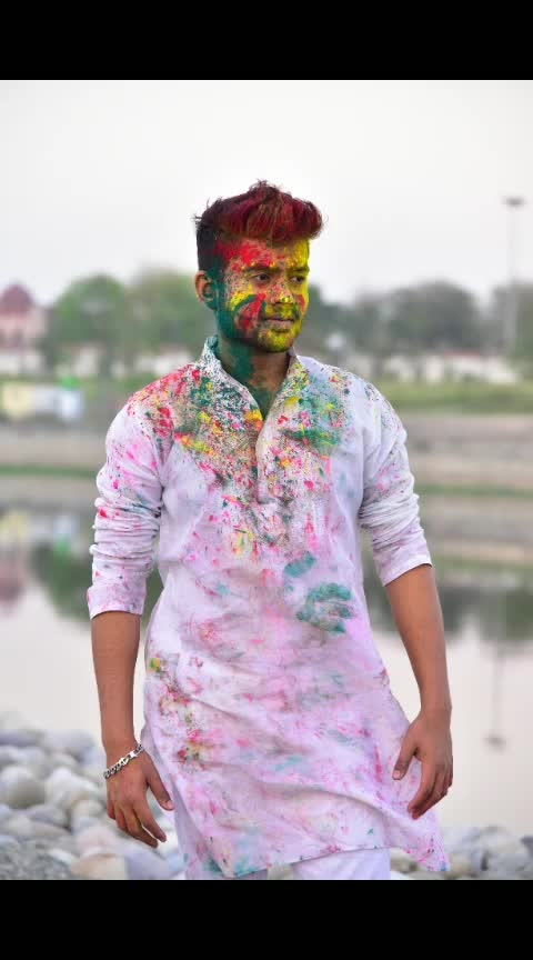 I will put all the colors on your face on this Holi and I'm praying to God to add more colors to your beautiful life. Happy Holi! in ADVANCE. #holi #festival #India #souravsarkar