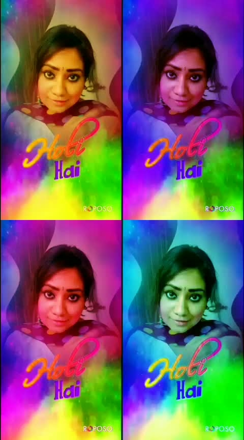 Happy Holi guys ❤️ #happy-holi-in-adwance #ropo-holi #holi2019 #roposoeffects #holicolors #raisingstar #roposolove #roposers #holispecial  ❤️