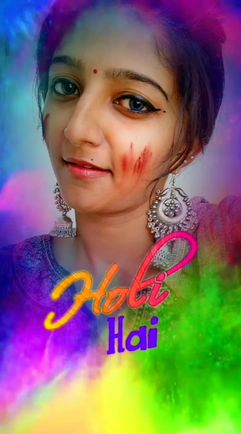 happy holi#holi2019 #roposoholi #risingstar #happy-holi-in-adwance #holi #colour #trend-alert