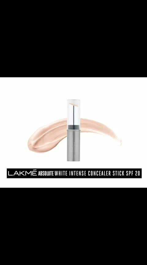 #Lakmé #Absolute #White #Intense #Concealer #Stick #SPF 20