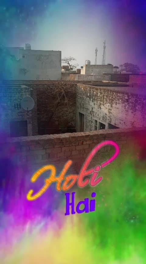 happy Holi #sunlight and rain