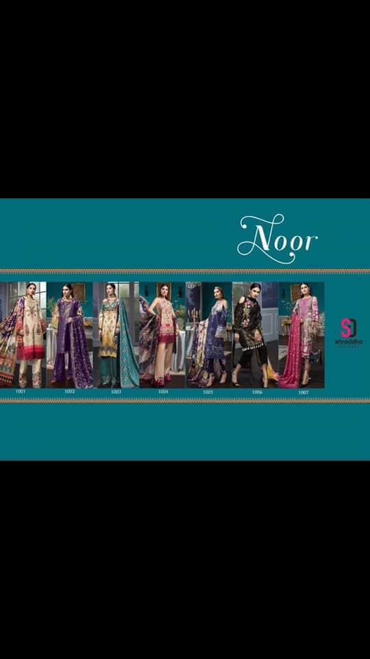 📒 Catalogue Name :- *NOOR* By *_Shraddha Designer_* 🔹Top: COTTON SATIN PRINT & FOIL PRINT WITH HEAVY EMBROIDERY 🔹Bottom- SOLID COTTON/.BOTTOM WORK 🔹Dupatta :  NAZNEEN WITH HEAVY EMBROIDERY/ CHIFFON PRINTED WITH INTER LOOK With Per PC moti pearls packet 🙄🙄🙄Yay' or 'Nay'...?? 😍😍😍How's this gyzzz???? . Also give rating(1-10) . Tag someone in Comments  Follow:👉 @deladesireboutique Follow:👉 @deladesireboutique Follow:👉 @deladesireboutique Follow:👉 @deladesireboutique for any inquiry dm me #kurtis #designersuits #indowestern #indianbride #goldjewellery #designersaree #bridalentry #salwarsuits #desifashion #desilook #love #pinkvilla #indianbride #ratibeauty #handloom #clientdiaries #fashiontrends#missindiafit #weddingsofinstagram #delhidiaries #bollywood #share #lehengha#fashiondesigner #mumbai#ethnic#trendyfashion#