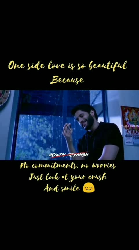 #one side love.....