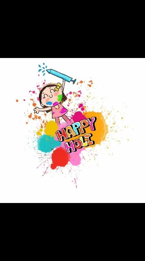 #happyholi #happyholi2019 #happy_holi_2019 #dailypost #followusonroposo
