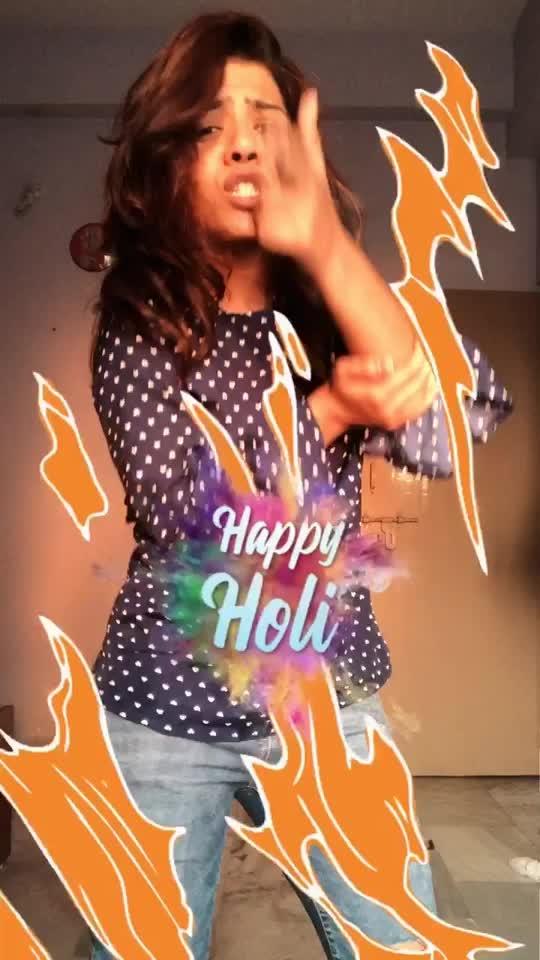 Happy Holi To All the Roposo Fam😍😘 #happyholi #roposoholi