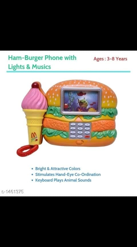 Kids Musical Mobile Phones Vol 1 mm  Amaze your Friends With this Amazing  Musical Mobile Phones Age: 3- 8 years Dispatch: 5-9 days