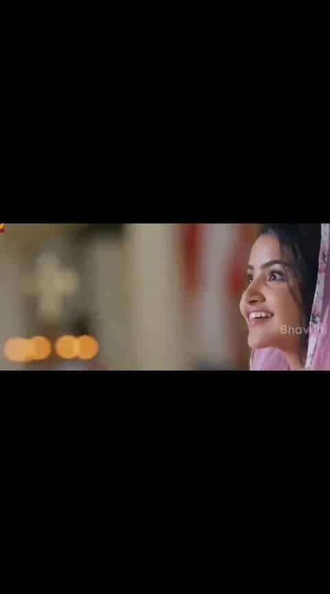 #ninnechudanu_pommante #lovesong #anupamaparameswaran #videosong