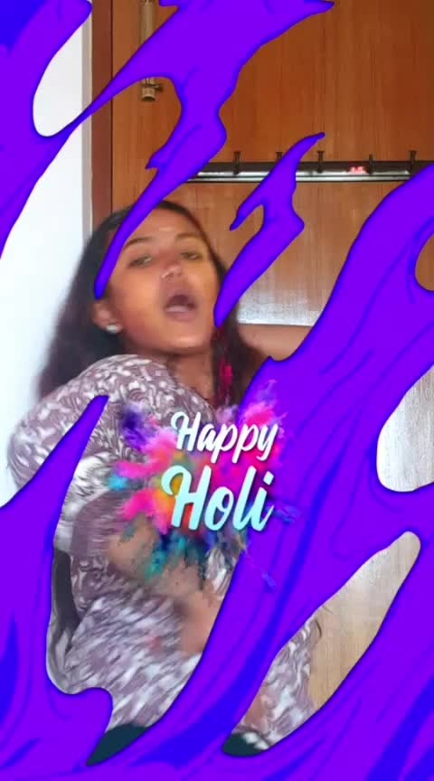 #happy-holi-in-adwance #ropo-holi #holi #roposo-hindi #roposo-music #roposo-dance