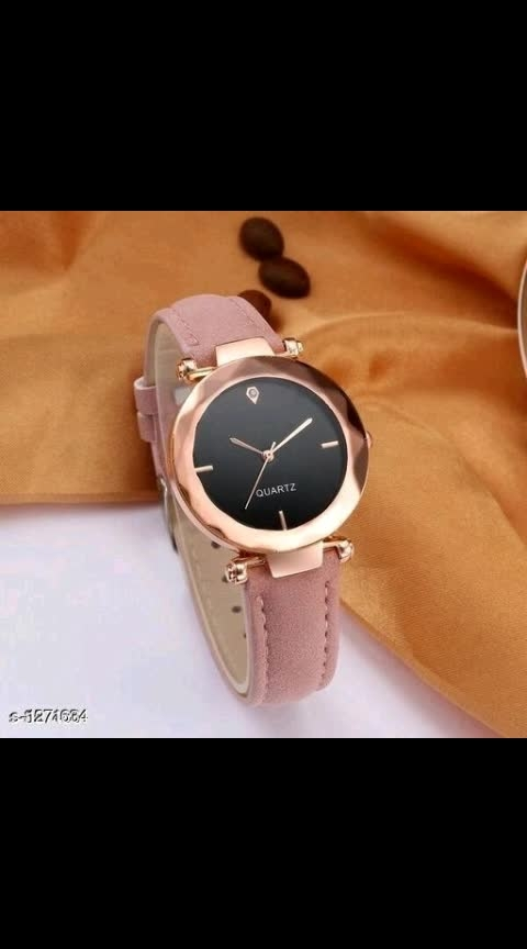 Diva Voguish Women's Analog Watches Vol 1  Material: Leather Dial Size - 36 mm  Type: Analog Water Resistance : Yes Display Shape: Round Description:It Has 1 Piece Of  Women's Watch Dispatch: 2 - 3 Days