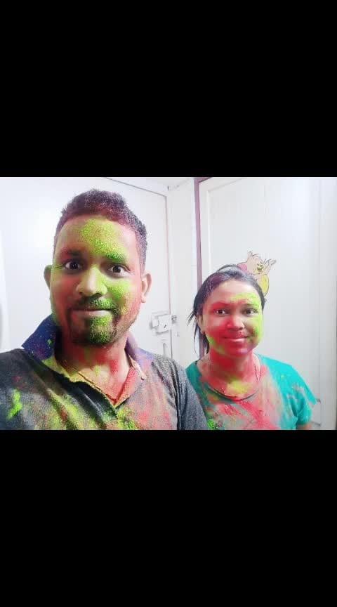 #ropo-holi #happyholi #festivalofcolors ..
