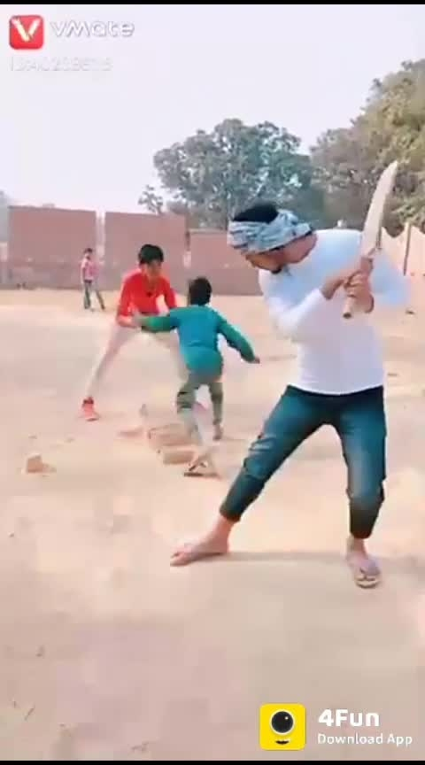 Comedy #fun #enjoy #cricket #batsman #out #child #ball #commentry #solid #match #wicket #love #share #laugh #smile #Back #eyes #fielding #delhi #ncr #hilarious