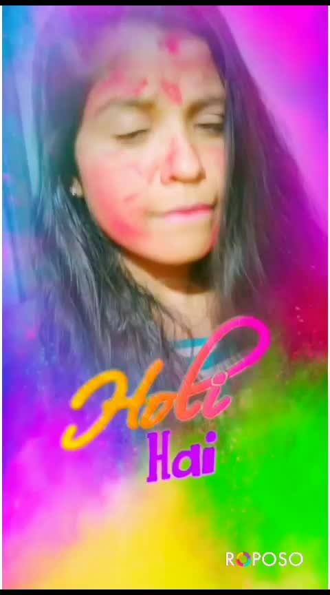 💖💖#holi2019 #holi #roposostars #roposo @roposocontests