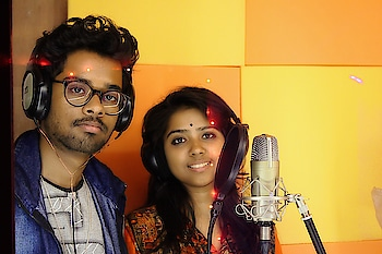 #Music recording update with heartiest #HappyHoli wishes to all. Please check out music videos and subscribe our channel: https://www.snfilms.in/music-videos #director Sanjib Nath #song Sayan Bhattacharya Debasmita Chatterjee & #arrangement Soumyadip Halder