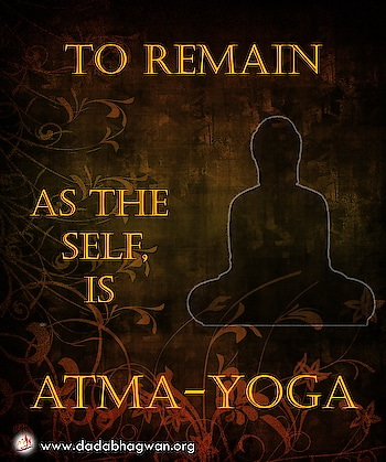 Do You Know that realization of the Self is atma-yoga; it is your own abode? The rest are union with the body (deha-yoga) the non-self.   Find out more: https://www.dadabhagwan.org/path-to-happiness/self-help/yoga-meditation-and-self-realization/about-yoga-and-meditation-types/  #yoga #soul #self #spiritual #spirituality #yoga #yogainspiration