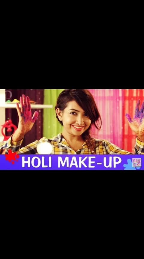 Wish u a #happyholi & hope u played with #colour  in #styles   #fashion #beauty #makeup
