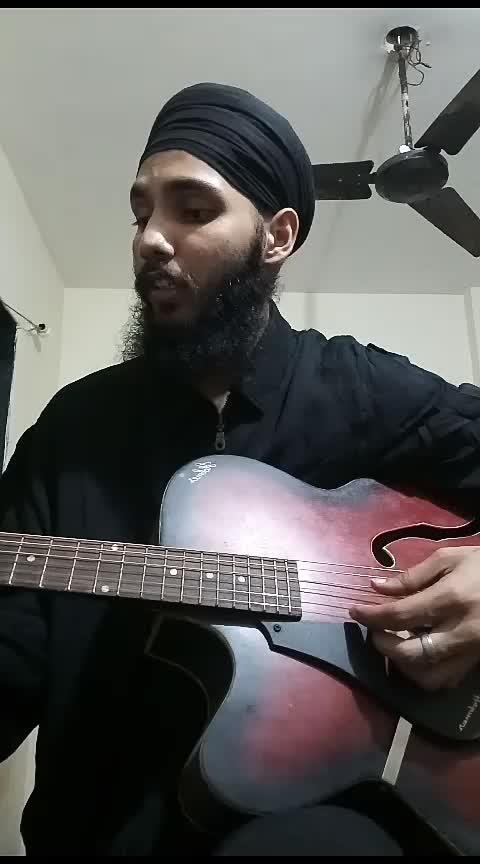 O Bekadar by #mastersaleem ji @anshikagrover @theparassethi @roposocontests @roposotalks #roposo #roposostar #unpluggedversion #guitar #sad #roposo-trending #viral #bollywood
