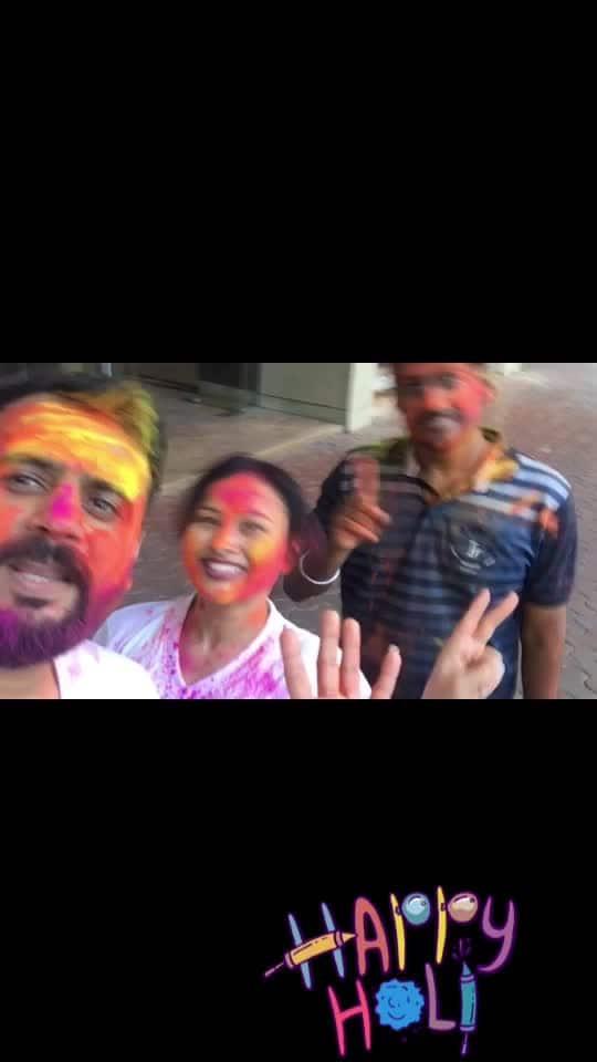 Happy holi everyone.. #holi2019#gopaagal#gocrazy#happiness #rop-love #ropo-fun #happyholi, # holi2018