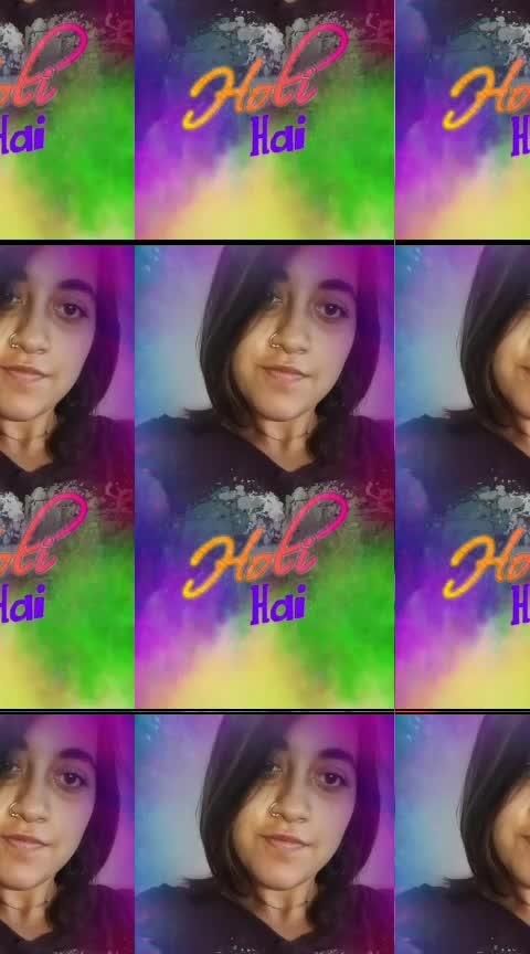 Holi Hai 💃 #happyholi #holihai #holi2019 #roposofilter #roposofilters #roposolove