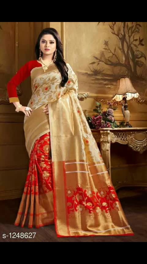 Gracious Banarasi Silk Sarees Fabric: Saree - Banarasi Silk , Blouse - Banarasi Silk Size: Saree Length - 5.5 Mtr, Blouse - 0.8 Mtr Work: Zari With Woven Work #banarsisaree #banarasisilksaree #zariwork #wovenborder #shopwithus #buyitnow #thebazaar #cashondelivery #followusonroposo
