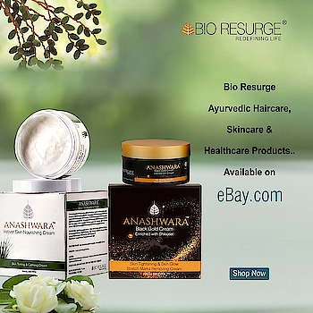 We are so excited to share this with all of you, Bio Resurge is now available on your favourite destination- eBay !  SHOP NOW: https://www.ebay.com @ebay #bioresurge #ayurveda #beauty #nosideeffects💯 #chemicalfreeskincare #ayurvedaproducts