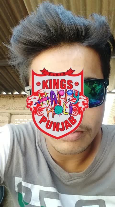 #kingsxipunjab #happyholi, # holi2018