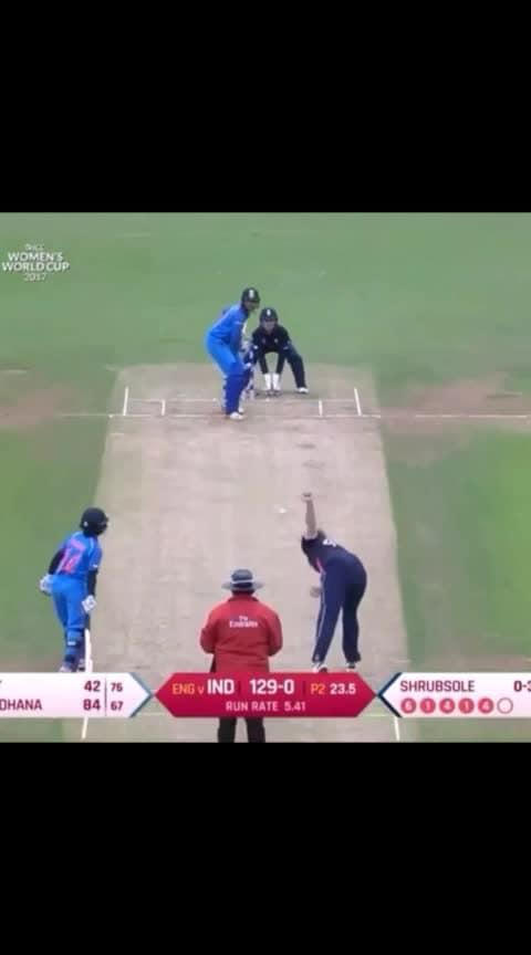 #smrithi_mandana #superb batting....