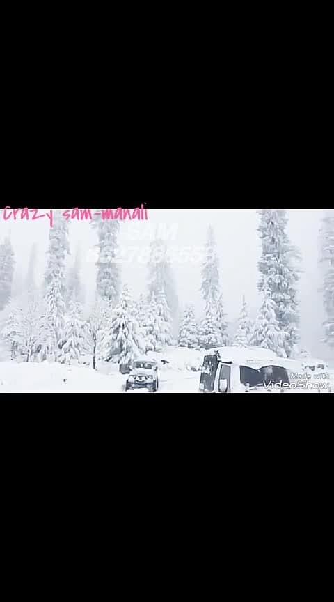 #roposo-star #roposo-foryou #haha_tv #roposo-beats  #ropo-punjabi-beat  #roposo-wow #roposo  #crazy #gypsy  #snow #snowfall #feeling snowy #feelingspecial  #adventure #action  #manalilife   #sam-manali 8627886558