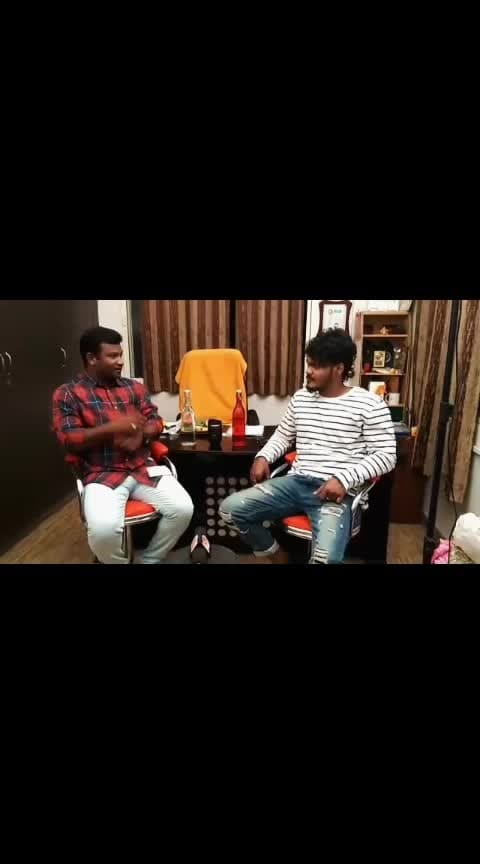 Chit chat with Director Rom Bhimana... #MaheshMachidi😎 #RomBhimana