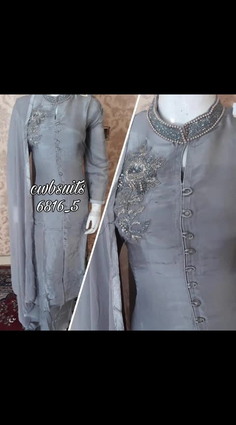 *special party wear collections* At best prices... Super special last lefts. Cwb6816 Imported fabrics  Work superb..  Bust 42 aprx  Bottom shantoon 3maprx  Dupata included....  💠💠💠💠💠💠💠💠💠💠cwbA