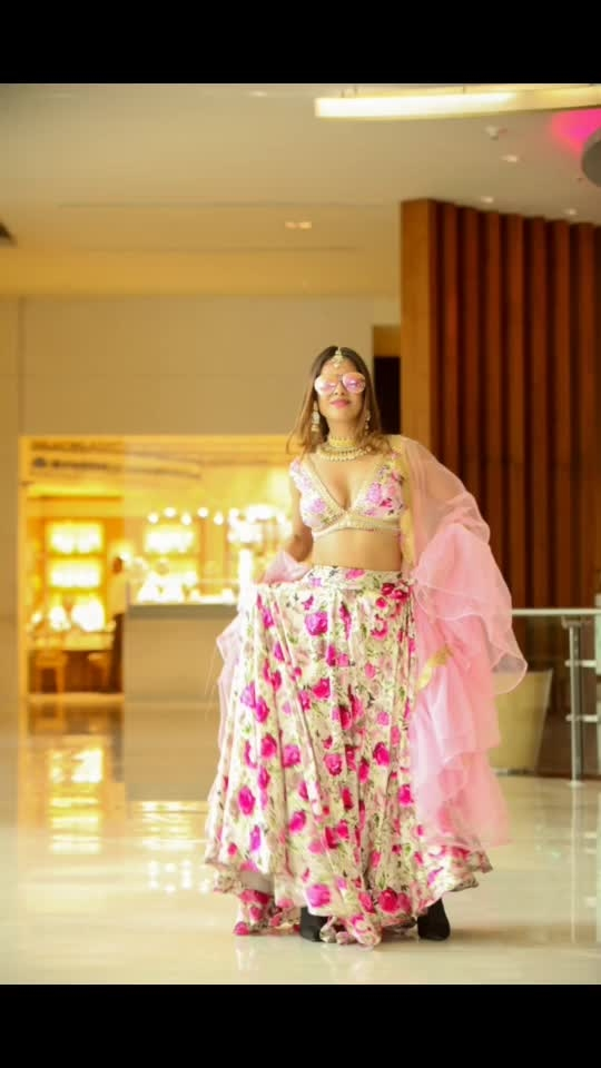 Posing post event 💕💕🌸🌸🌸 Pictures clicked by @azharkazi100 📸📸 Outfit and Jwellery designed by @baaksha - @manju.pradhan @meenapradhan 🌸🌸💕 Makeup & hair @shabana_makeup_artist75 : : #momdaughter #momandme #mommysgirl #mommysprincess #holievent #bangbangholi #hyderabad #eventtime #eventday #happyholi #holi2019 #novotelhotel #novotelhydairport #holifestival #happyholi2019 #festivalofcolors #festivaloutfit  #desilook #indianbeauty #pollywood #sakhiyaan #sakhiyaangirl #punjabi #punjabiactress #nehamalik #model #actor #blogger #instagram