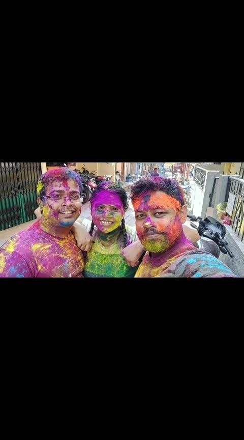 #happyholi #colourblast #feeling #alive