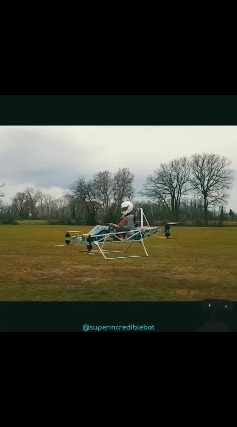 "Now we can fly thanks to Tomasz Patan😎🤩🤩🤩😀😉 .  If you like it, don't forget to follow @sciencesetfree :)😘😘 .  This is our first milestone - on the way to personal electric flight available to everyone. Jetson Speeder prototype made its first manned flight taking its pilot to the sky. It turned out to be a fantastic experience that everyone should be able to try. Being able to move through the air so effortlessly without vibrations or noise - it just felt so great. After months of careful planning, designing, #programming and building we had this beautifully #flying electric machine which was the first step leading to something even greater: Bringing the personal electric flight to everyone.😁👻 .  Jetson Speeder #prototype PAV(personal air vehicle) is powered by 8 #powerful #brushless #electric motors and lithium batteries. It is capable of lifting a passenger up to 100kg(220lbs) weight. The #flight time is 15 minutes.😜 .  Tomasz Patan are looking for someone who shares his vision. That would like to be a part his mission and take his #project further, higher and faster. . 🌹Music: TheFatRat - ""Fly Away feat. Anjulie"" 🌹 .  Credit: Tomasz Patan 😇 .  #robot #robots #robotics #mechanics #innovation #machine #drone #drones #aircraft #droner #dronegram #dronepilots #droneworld #dronespace #droneaddicts #dronevideos #dronepilot #dronevideo"