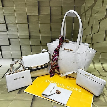 👆 PRODUCT NAME : MICHAEL KORS PURSE COMBO 👆 🔥 HOT IN STOCK 🖱 AVAILABLE COLORS : AS IN PIC 🤘 5 PCS COMBO FOR ALL OCCASION 😍 ⭐️ QUALITY : GOOD 💰 PRICE : 1450/- ONLY (ANY SINGLE COMBO) ✅ COD AVAILABLE (100RS EXTRA, WHICH IS ADVANCE) ✈️ SHIPPING FREE ON PREPAID ORDER (ALL OVER INDIA) ✅ EASY PAYMENT THROUGH TEZ, PHONEPAY, PAYTM, UPI, BANK TRANSFER, PAYPAL ✈️ SHIPPING ALL OVER WORLD (CHARGES EXTRA) 🚧  L I M I T E D  I N  S T O C K  🚧 FOR ORDER OR INQUIRY DM👇  or #whatsapp us on 9016711363  #ladiespurse #purse #premium #shoponline #deliveryfree #alloverindia #codavailable #buynow