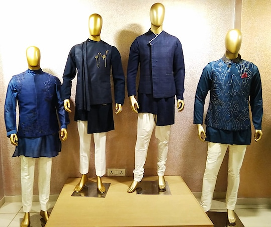 Timelessness classics for Men by Divyammehta_official !! Showcasing now at Deval The Multi Designer Store!!! . . . . 📍 Deval The Multi Designer Store, S G Road, Ahmedabad For more details please call/whatsapp us +91 98984 22000 #devalstore #ahmedabad #designerwear #clothingstore #designerstore #festivewear #springcollection