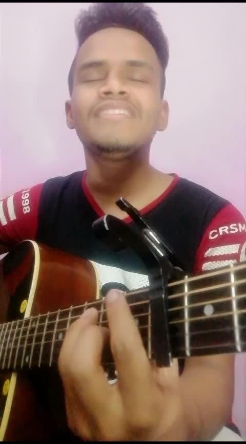 Mere rashqe Qamar reprised acoustic😊 #lovefellings #so-ro-po-so #rops-style #ropo-punjabi #roposoness #acoustic #guitarist