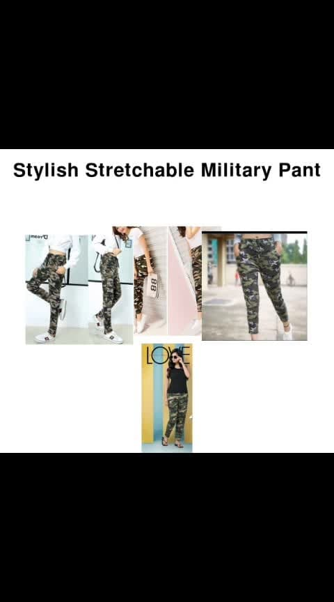 Stylish Stretchable Military Pant - - #fashion #style #stylish #love #photography #instapic #me #cute #photooftheday #nails #hair #beauty #beautiful #instagood #instafashion #pretty #girl #girls #eyes #model #dress #skirt #shoes #heels #styles #outfit #purse #jewelry #shopping