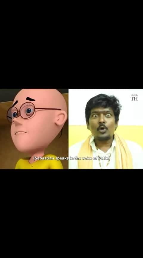 voiceover artist Mr.SABASTIAN  Patlu ,keo and laggerwick voice