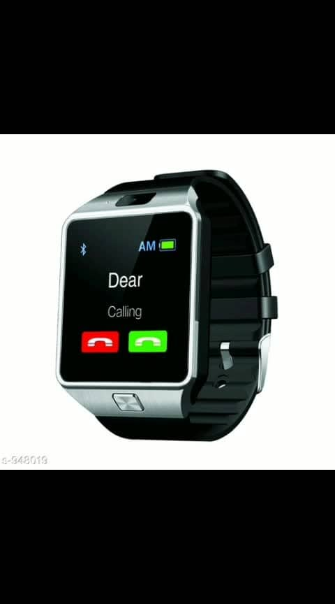 Stylish T30 Smart Watches   Material: Metal & Rubber Size: Dial size - 43.5 mm X 40 mm X 11.8 mm Diisplay size: 240 X 240 Pixels Supported Features: 1. Call Function: Calling (to call), Call reminder (to remind of missed calls) 2. SMS: To send and receive SMS 3. Calendar: To manage your schedules and see months and week 4. Alarm: Providing you audible notification about any preplanned condition or situation you managed to remember 5. Anti Lost remainder: You need to synchronize once your phone with your watch and after that in case you lost your phone you can keep track of it 6. Sleep Monitor: To monitor your sleep pattern and keeping you fit and fine 7. Bluetooth Dialer: To make calls and disconnect your calls by synchronizing the phone with the help of Watch 8. Sedentary Reminder: Helps you to know the movement distance at any location and time 9. Camera: Camera with 2.0 MP feature including Self timer to take your photos (Supports Mp4 & also can click pictures with jpeg, Bmp, PNG formats for images; does video recording, audio recording) 10. Battery & Power: Has power of 350mAh, Talk time: 3hours Stand by time: 180 hours  11. Memory: It has an internal memory RAM=128M, ROM=64M & external memory expandable up to 16GB. 12. Pedometer: Tracking every movement to define your working capability and enhancing it accordingly to the notifications denoted by T30. Compatibility: Compatible With Smartphones Description: It Has 1 Piece Of Smart Watch   Dispatch: 2 – 3 Days
