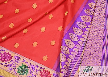 Handwoven Gadwal pure silk saree in red with buttas and a rich contrast pallu in purple .Beautiful meena borders enhances its beauty. Code: GDL005113 Contact : +91 88612 55270 , 918792177606 Write to: anivartee108@gmail.com http://www.facebook.com/anivartee Malleshwaram, Bangalore #anivartee   #gadwalsaree #gadwalsilksarees #gadwalsilk   #gadwalsareesbangalore   #anivarteesarees   #sareesbangalore   #malleshwaram #anivartee_malleshwaram   #bangaloresaree   #jayanagar  #hsrlayout   #whitefield  #bangaloreshopping #bangaloreevents   #bangaloreboutiques  #boutiquesinbangalore #100sareepact  #sareechennai #sareepune #sareemumbai #sareedelhi  #sareesoverseas  #sareesinnewyork   #sareeusa  #sareeuk  #sareeswag #sareestyle   #sareelove