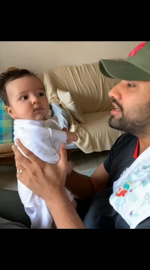 🏏🏏🏏🏏 #sportstv #cricketer #rohitsharma #ritikasharma #samaira #indiancricketteam #ipl2019 #trendingnow #famous #wow #haha #lol #haso #laughingoutloud ##cute-baby #girlchild #amazing #toptrends #bestvideos #trendingonroposo #cricketlovers #trendinglive #gift_pls #babylove #daughterlove