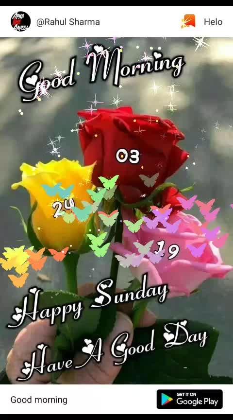 #goodmorning-roposo #happy_sunday