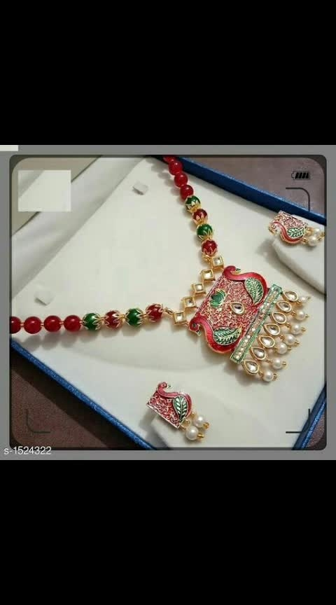 *Shimmering Versatile Alloy Jewellery Sets Vol 1*  Material: Alloy  Work: Pearl & Beads Work  Easy Returns Available in Case Of Any Issue 325 Only #alloy #necklaceset #necklaceoftheday #pearlwork #shopwithus #buyitnow #thebazaar #cashondelivery #followusonroposo