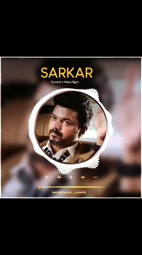 Sarkar BGM... #sarkar #thalapathy #thalapathyvijay #armurugadoss #armurugadossfilm #arrahman #arr #arrahmanmusic #arrahmanhits #arrahmanbgm #keerthysuresh #keerthisuresh #keerthi_suresh #varalakshmisarathkumar #varalakshmi #vijay #josephvijay #thalapathy_vijay